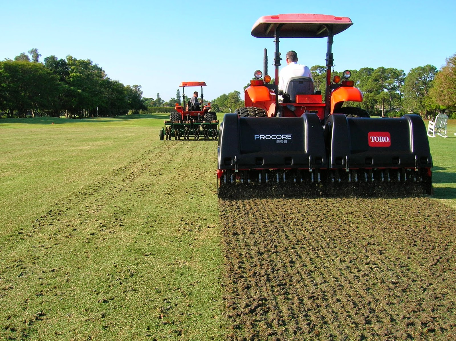 New Aerification Equipment