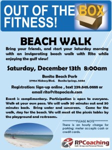 Out of the Box Beach Walk Revised