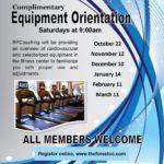 Equipment Orientation