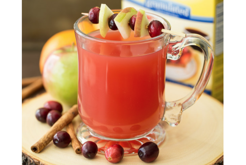Cranberry Apple Cider Recipe - Healthy Eating