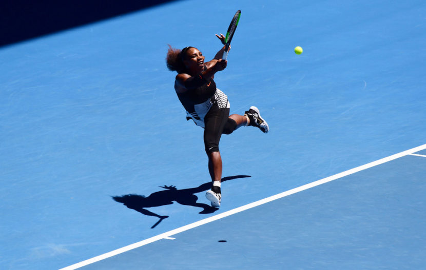 Serena Williams physical fitness