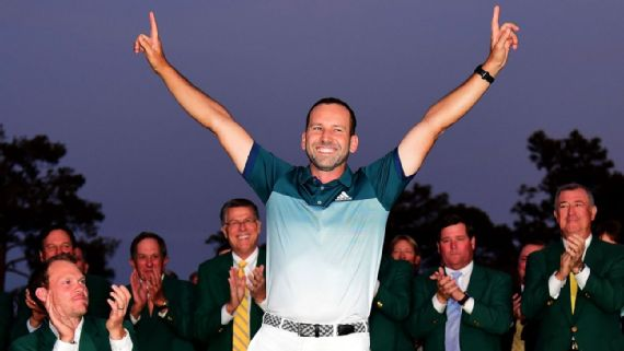 Sergio Garcia wins at The Masters