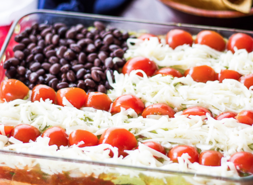 Seven Layer Dip Healthy Recipe