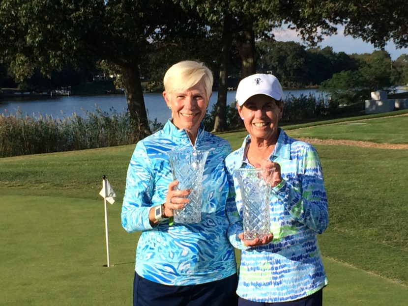 Nancy & Virginia score big as golf champions in Maryland