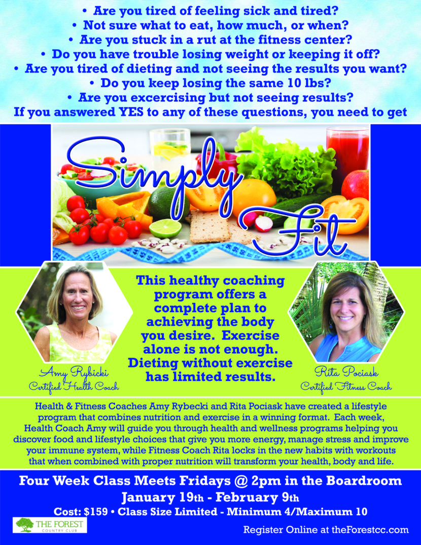 Simply Fit Diet & Exercise Class