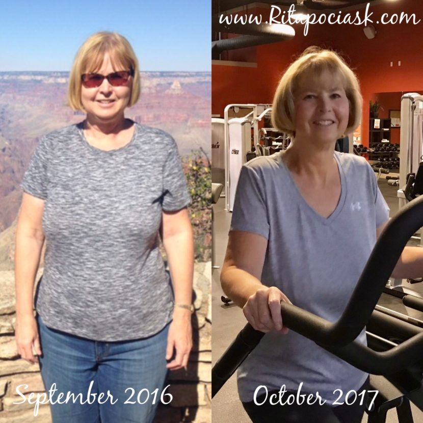 Mary Jacobs transformation weight loss