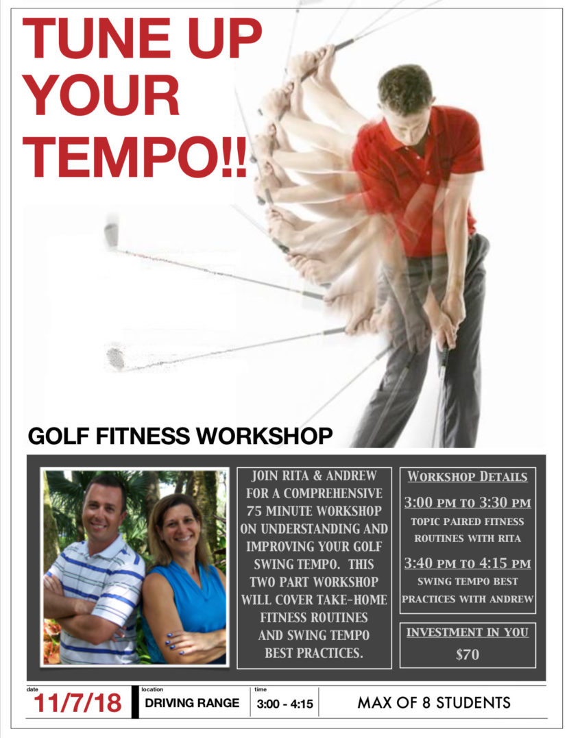 Golf Fitness Workshop