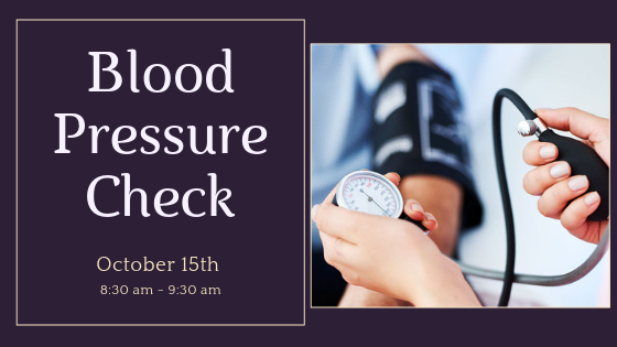 Blood Pressure Check