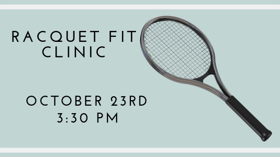 Get Racquet Fit Clinic