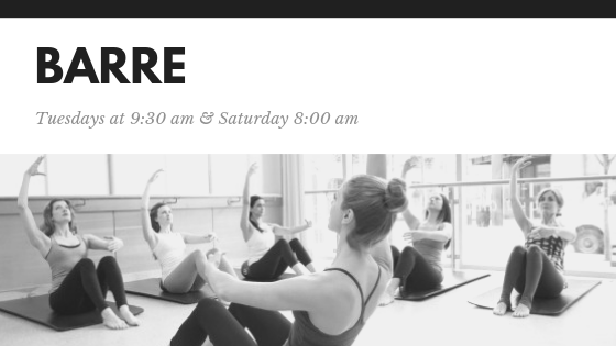barre fitness class